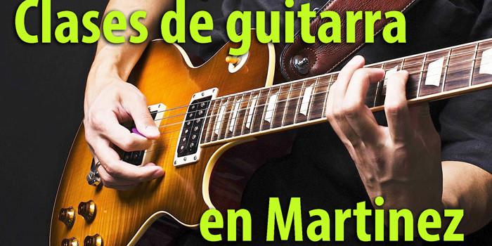 Clases de Guitarra en Martínez